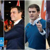 Collage candidatos elecciones