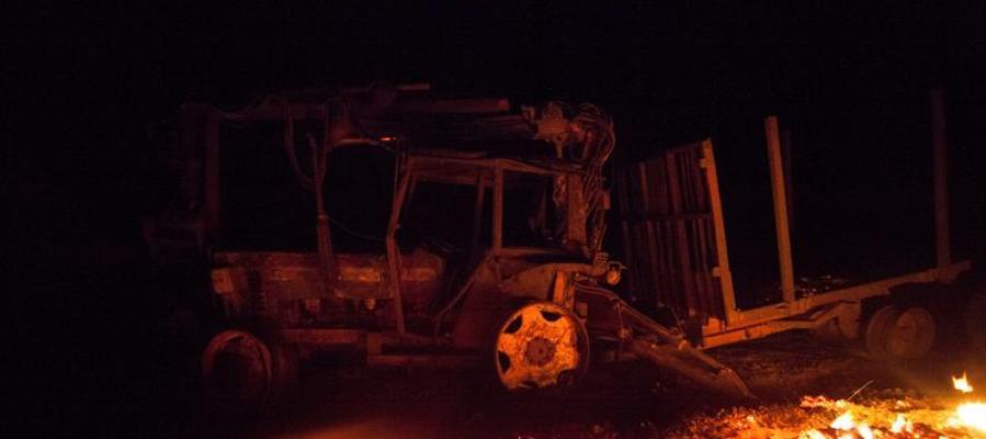 Más de un centenar de incendios siguen activos en Asturias