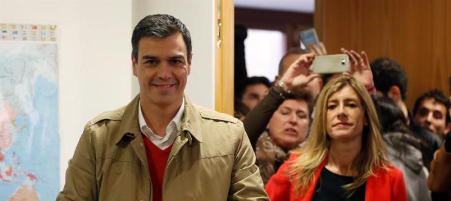 Votación de Pedro Sánchez