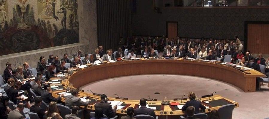 En la imagen, el Consejo de Seguridad de la ONU, en Nueva York