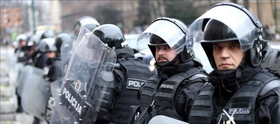 Detienen a 11 personas en Sarajevo por sospecha de preparar actos terroristas
