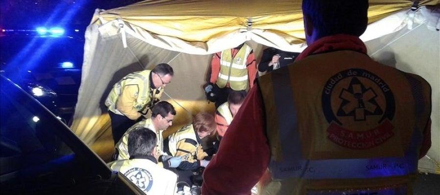 Varios efectivos de Protección Civil en un suceso