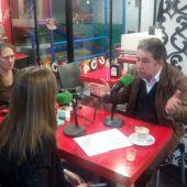 Miguel Anxo Fernandez Lores no almorzo informativo na véspera de noiteboa