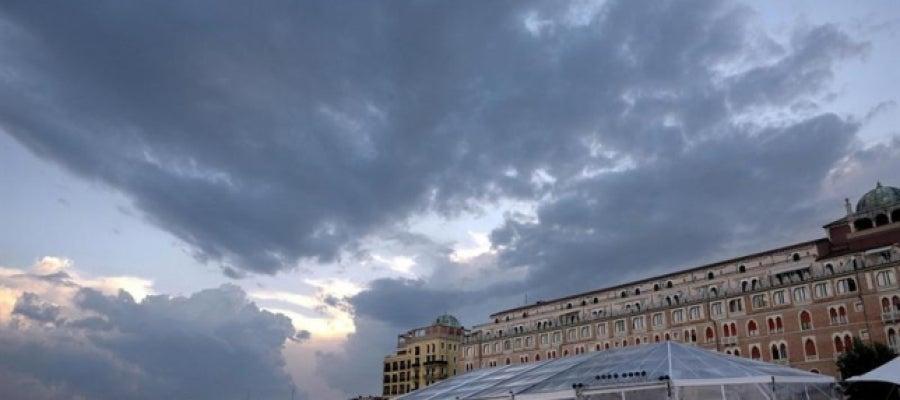 Cielo nublado y tiempo inestable