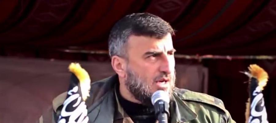 Zahran Alush, anterior líder del grupo rebelde sirio Ejército del Islam