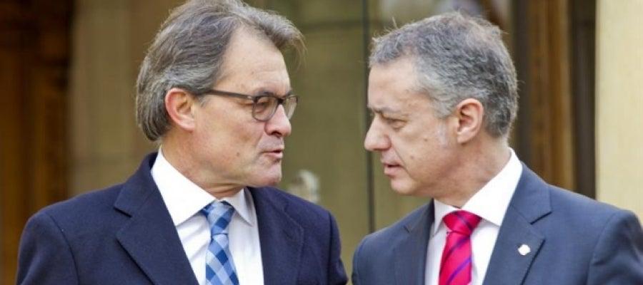 Artur Mas e Iñigo Urkullu