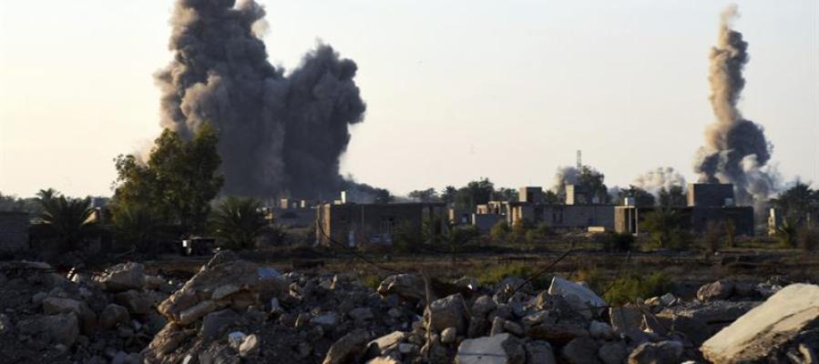 Ataque aéreo en Irak