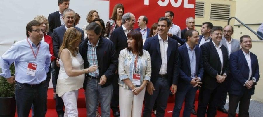 Comité Federal del PSOE reunido en Madrid