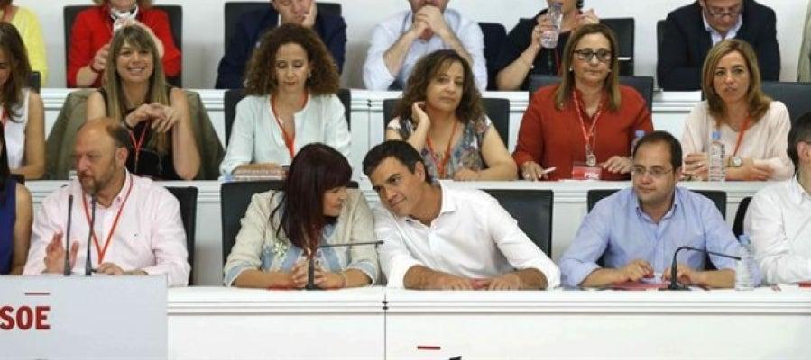 Pedro Sánchez en el Comité