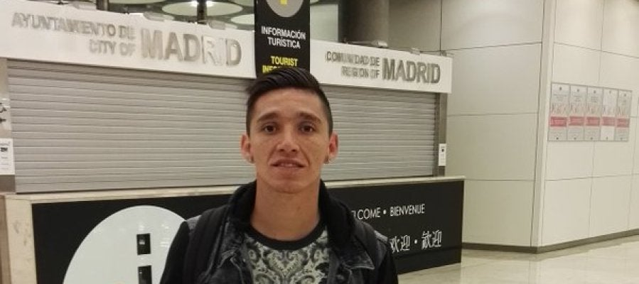 Krannevitter, en el aeropuerto Madrid Barajas - Adolfo Suárez