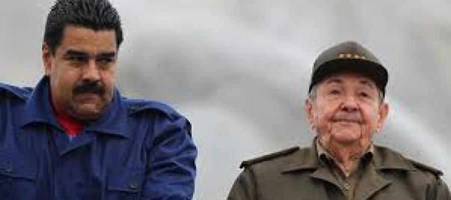 Nicolás Maduro y Raúl Castro