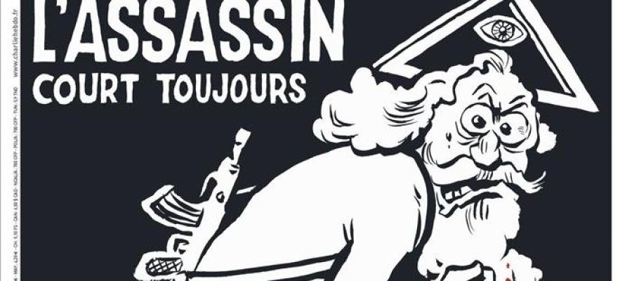 Portada de Charlie Hebdo un año después de los atentados