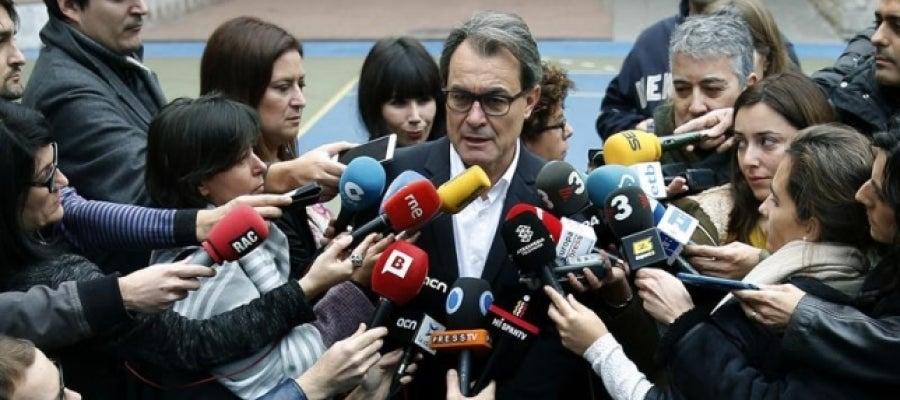 El presidente en funciones, Artur Mas.