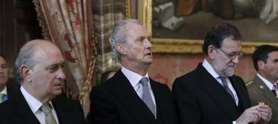 El ministro de Defensa en funciones, Pedro Morenés.