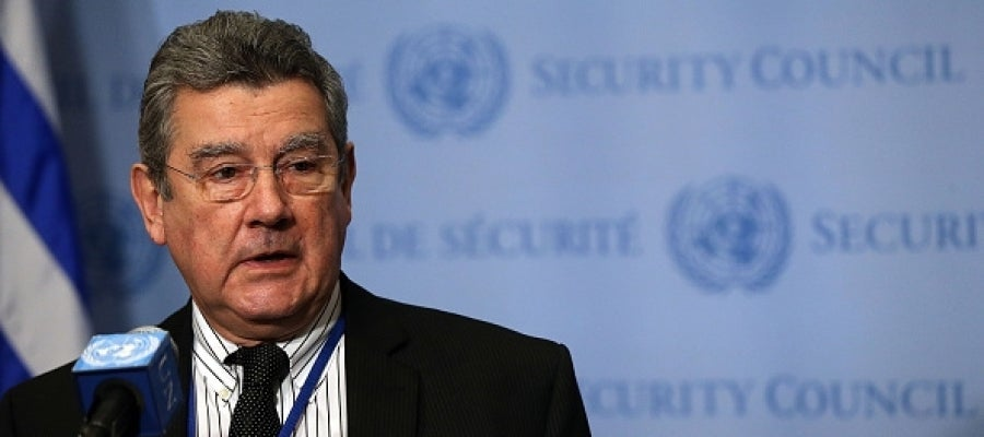 El embajador de Uruguay en la ONU, Elbio Rosselli
