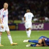 Cabezazo de Zidane a Materrazzi.