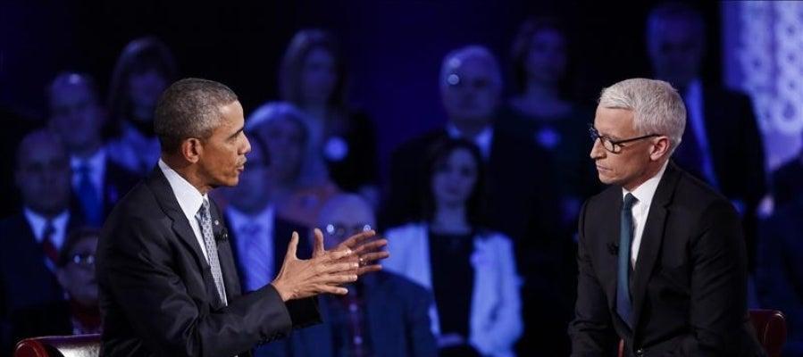 Barack Obama en un foro con ciudadanos