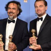 Alejandro González Iñárritu y Leonardo DiCaprio