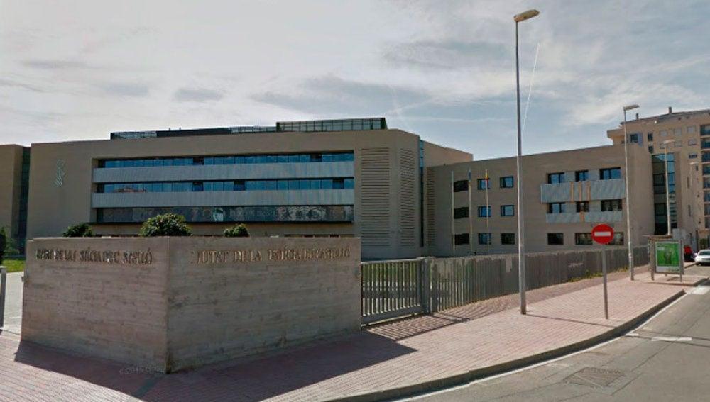 Fachada de la Audiencia Provincial de Castellón.
