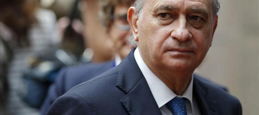 Jorge Fernández Díaz, ministro de Interior en funciones