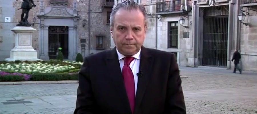 Antonio Miguel Carmona, concejal del ayuntamiento de Madrid.