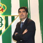 Ángel Haro, nuevo presidente del Betis