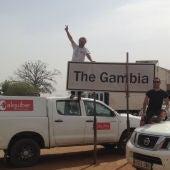 Jorge Granullaque llega a Gambia