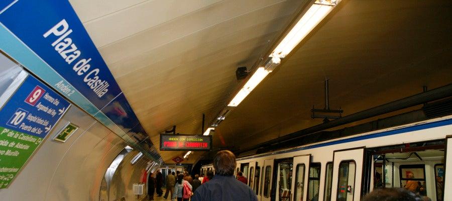 Estación de Plaza de Castilla de Metro de Madrid