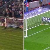 Messi emula el penalty de Cruyff