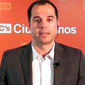 El portavoz de Ciudadanos en la Comunidad de Madrid, Ignacio Aguado.