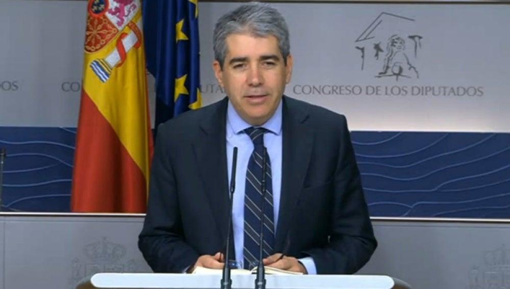 Francesc Homs, portavoz de DiL