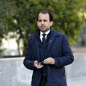 Alberto Mendoza, uno de los concejales del PP en el Ayuntamiento de Valencia, que tendrá que declarar como investigado por el 'caso Imelsa'