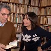 Isabel Gemio y Andrés Trapiello