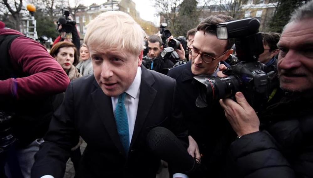 Boris Johnson, alcalde de Londres