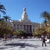 Plaza de San Juan de Dios, en Cádiz