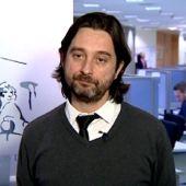 El secretario de relación con la sociedad civil y movimientos sociales de Podemos, Rafa Mayoral