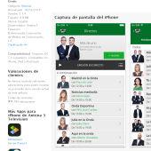 Captura de la App de Onda Cero para iOS