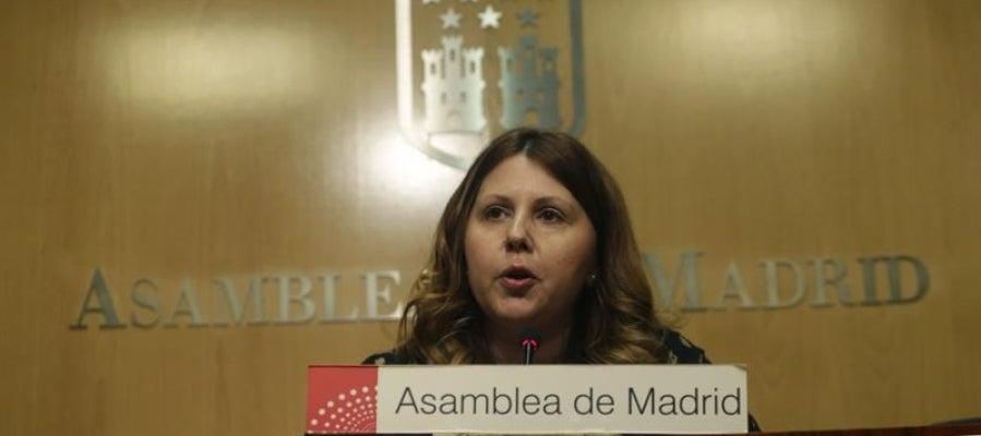 La diputada de Ciudadanos en la Asamblea de Madrid, Eva Borox