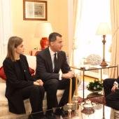 Los reyes transmiten su pesar al embajador de Bélgica en España