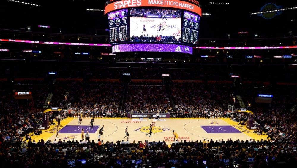 El Staples Center, cancha de los Lakers y de los Clippers