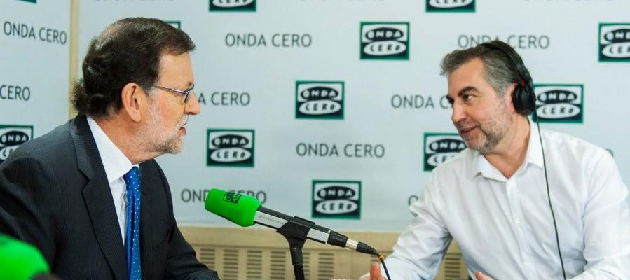 Carlos Alsina entrevista a Mariano Rajoy