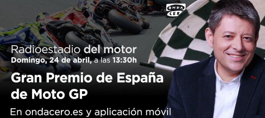 Retransmisión de la carrera de Moto GP desde Jerez en Radioestadio del moto