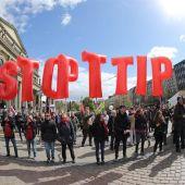 Protestas contra el TTIP en Alemania