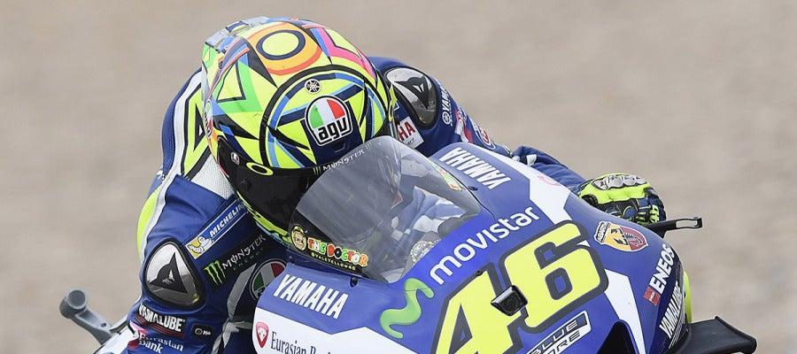Valentino Rossi en el Gran Premio de España de MotoGP