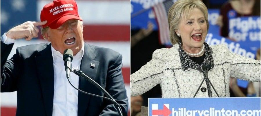 Trump y Clinton