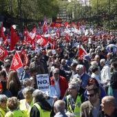 Manifestación por el Día del Trabajo