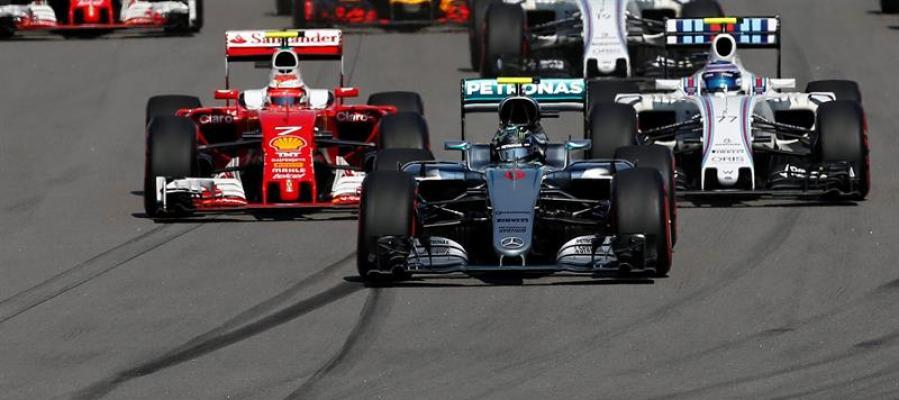 Nico Rosberg durante el GP de Rusia