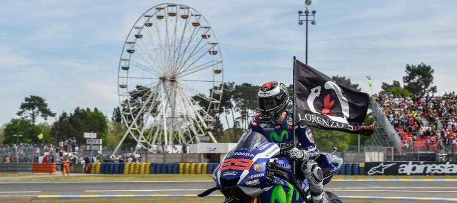 Jorge Lorenzo lograla victoria en el GP de Francia