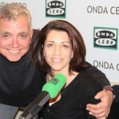 Alicia Borrachero y Juan Ramón Lucas