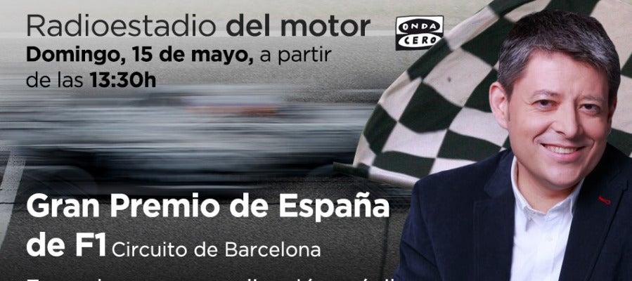 GP de España de F1 en Radioestadio del motor